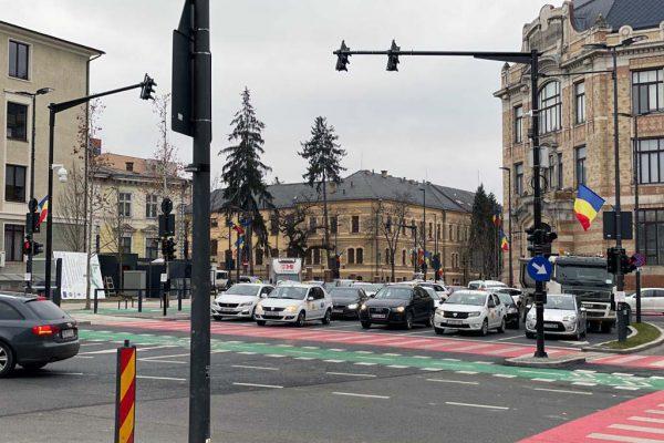 Altimate a implementat în Cluj-Napoca un proiect de management al traficului pentru creșterea siguranței pietonilor și fluidizarea traficului